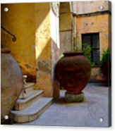 Etruscan Tarquinia Italy North Of  Rome Acrylic Print