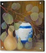 Eucalyptus And Vase Acrylic Print