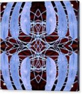 Eucalyptus Globulus Tasmanian Blue Gum Leaves Acrylic Print