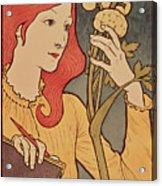 Eugene Grasset Acrylic Print