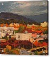 Eugene In Fall Acrylic Print
