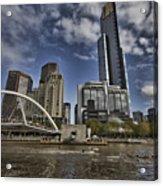 Eureka Tower-view From Cityside Acrylic Print