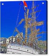 Europa Docks In Sydney Acrylic Print
