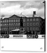 Europark 2014 Mono Acrylic Print