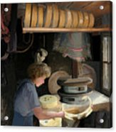 European Cheesemaker Acrylic Print