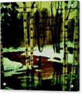 European Spring Acrylic Print