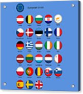 European Union Acrylic Print