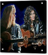 Eva Cassidy And Katie Melua Acrylic Print