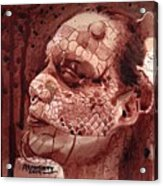 Eva Medusa - Lizard Woman Acrylic Print