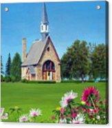 Evangeline Museum Acrylic Print