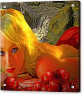 Eve In The Garden Acrylic Print