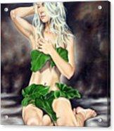 Eve In The Garden Ll Acrylic Print