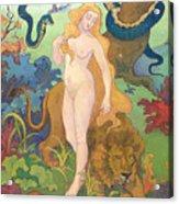 Eve Acrylic Print by Paul Ranson