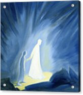 Even In The Darkness Of Out Sufferings Jesus Is Close To Us Acrylic Print