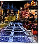 Evening Aglow Acrylic Print