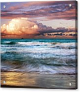 Evening At Kailua Beach Acrylic Print