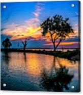 Evening At Riverwinds Acrylic Print