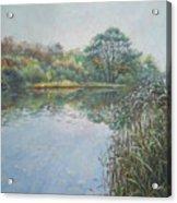 Evening At Southampton Common Lake Acrylic Print
