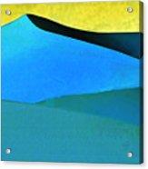 Evening At The Dunes Acrylic Print