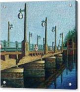 Evening, Bayville Bridge Acrylic Print