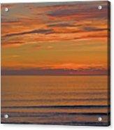 Evening Beach Walk Acrylic Print