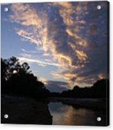 Evening Clouds Acrylic Print