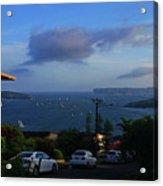 Evening For Sailing Acrylic Print