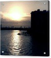 Evening In Miami Beach Acrylic Print