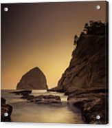 Evening In The Cove Acrylic Print