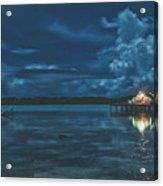 Evening In The Lagoon Acrylic Print