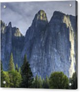 Evening In Valley Acrylic Print