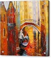 Evening In Venice Acrylic Print