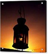 Evening Lantern Acrylic Print