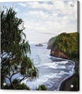 Evening Light Along The North Shore Of Kohala On The Big Island Of Hawaii. Acrylic Print