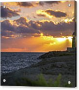 Evening Lighthouse Acrylic Print