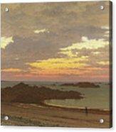 Evening On The Coast Acrylic Print