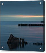 Evening On The Great South Bay Acrylic Print