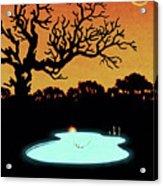 Evening Pool Acrylic Print
