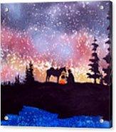 Evening Reflections Acrylic Print