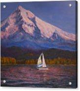 Evening Sail Acrylic Print