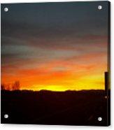 Evening Sky 8 Acrylic Print