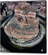 Evening Tones Horseshoe Bend Arizona Landscape  Acrylic Print