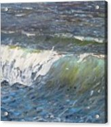Evening Wave Acrylic Print