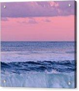 Evening Waves 2 - Jersey Shore Acrylic Print