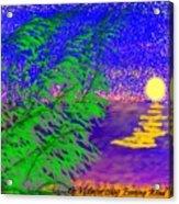 Evening Wind Acrylic Print