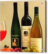 Evening Wine Display Acrylic Print