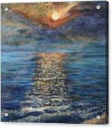 Evenning Sun Acrylic Print