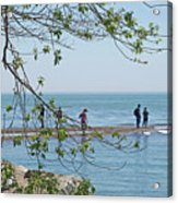 Ever-changing Pelee Acrylic Print