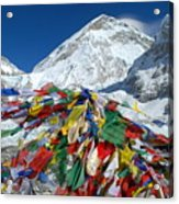Everest Base Camp Acrylic Print