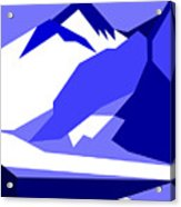 Everest Blue Acrylic Print